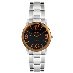 Diniho 32mm Bla Dial Semi-steel Quartz Watch