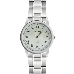 Diniho 33mm Roman Numeral Display Semi-steel Quartz Watch