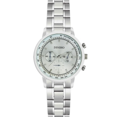 Diniho 29mm Silver Dial Semi-steel Quartz Watch