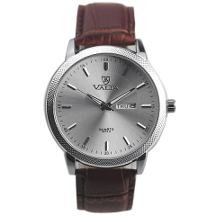 Valia 8610-2 Week & Day Display Quartz Watch