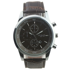 WYQ 89012 Date Display Minutes Circle Quartz Watch